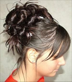 Easy Hairdos For Medium Hair Step By Step Easy Prom