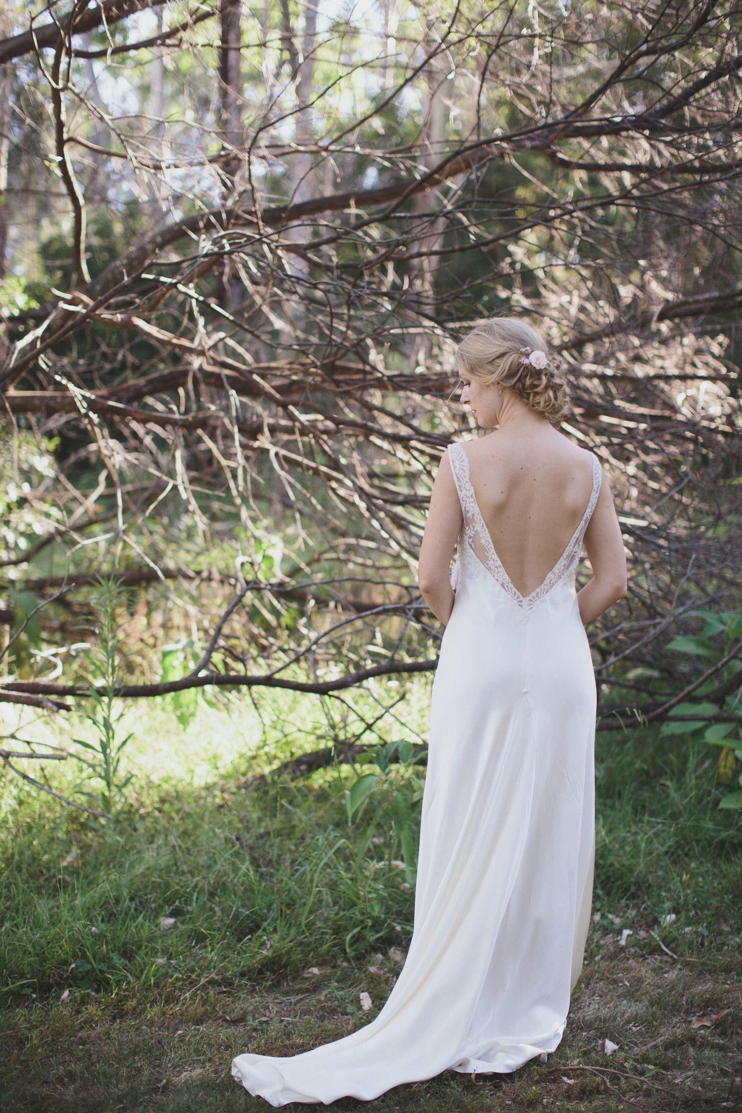 Gown gorgeousness. Photography: Rachael Muller  - rachaelmuller.com, Gown: Lilli Marcs http://www.lillimarcs.com.au  Read More: http://www.stylemepretty.com/australia-weddings/2014/06/19/romantic-sydney-wedding/