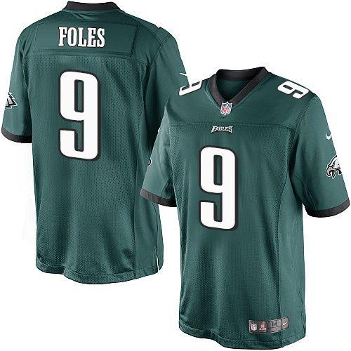 Youth Nike Philadelphia Eagles 9 Nick Foles Limited Midnight Green Team Color Nfl Jersey Nfl Jerseys Jersey Philadelphia Eagles