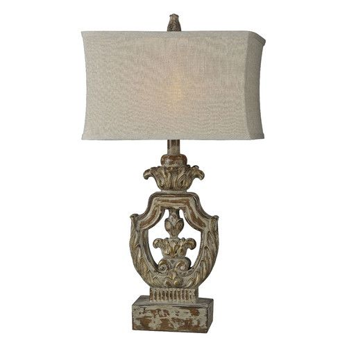 """Found it at Wayfair - Isabella 31"""" H Table Lamp with Rectangular Shade"""