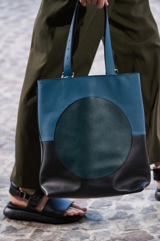 Hermès Spring 2020 Menswear Fashion Show Bags, Leather