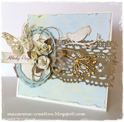 Put some Twine on it! Macarenas beautiful card. - Paper Issues