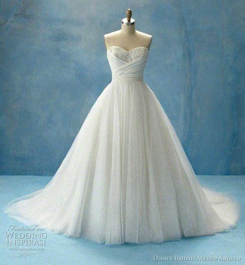 my dream wedding dress with sparkly red stilletos and my hair will ...