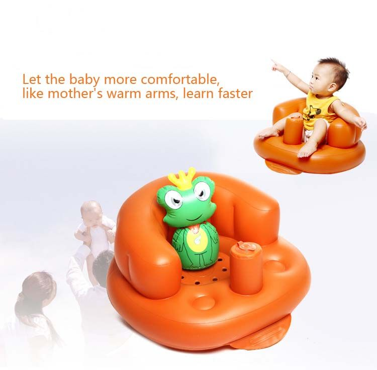 Kids Sofa Shower Folding Seat Rapid Inflatable Chair Baby Chair ...