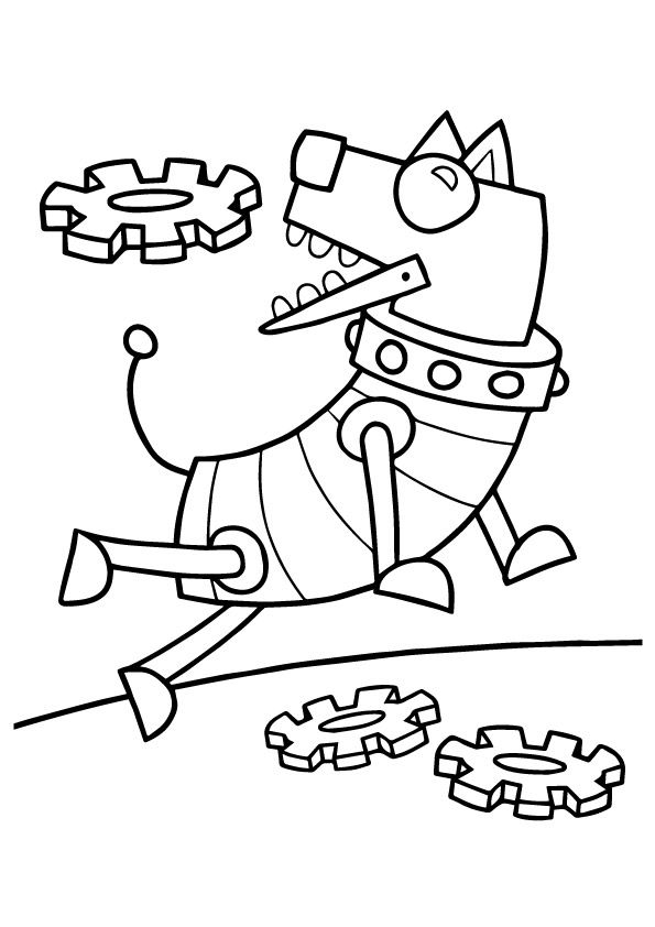 High Quality 20 Cute Robot Coloring Pages For Your Little One