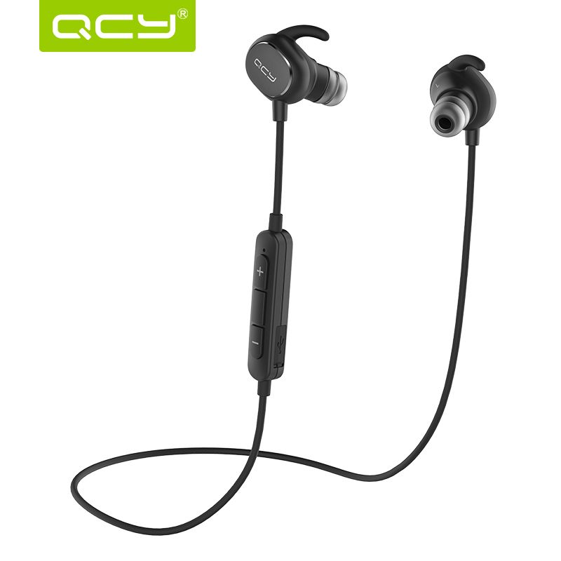 Qcy Qy19 Bluetooth Headset Wireless Sport Stereo In Ear Earphone Earbuds Auriculares Sweatproof Headphones Wireless Sport Earbuds Bluetooth Headphones Wireless