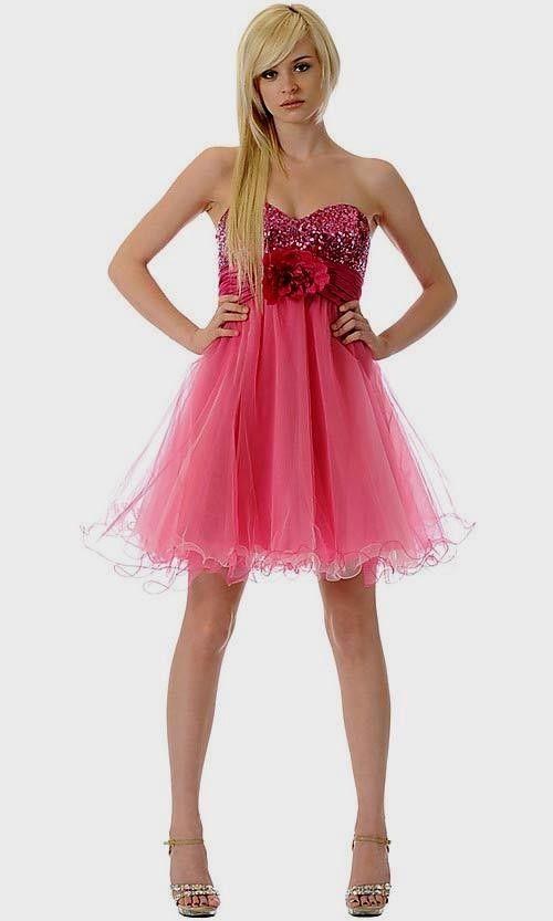 Vestidos cortos de fiesta para adolescentes de 13 anos - Imagui ...