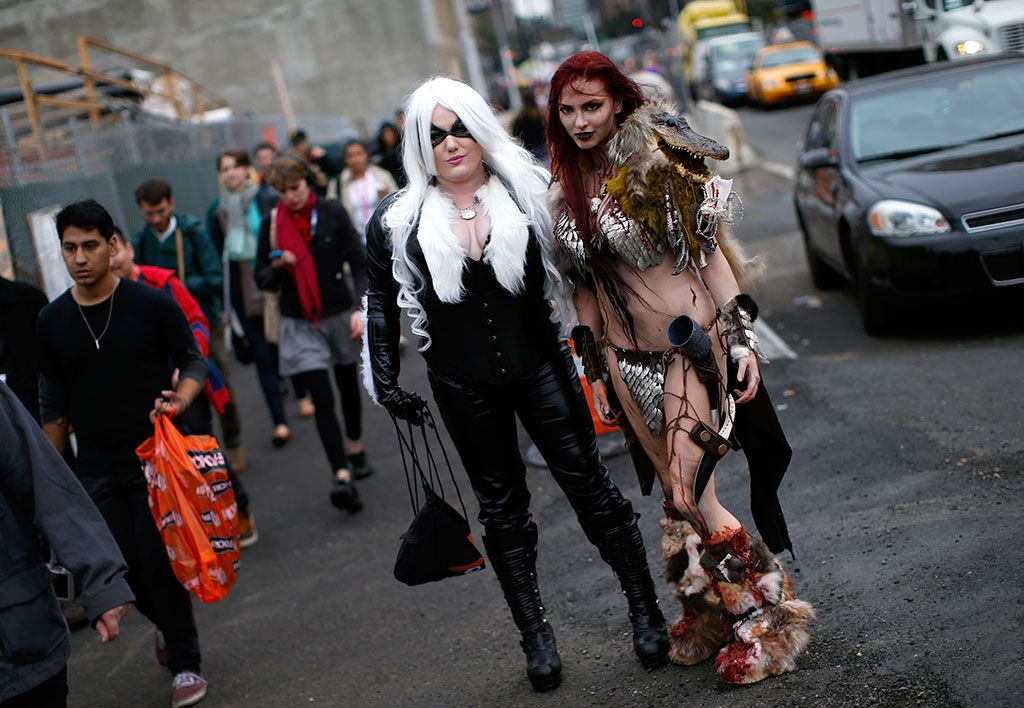 New York Comic Con #halloweenideas