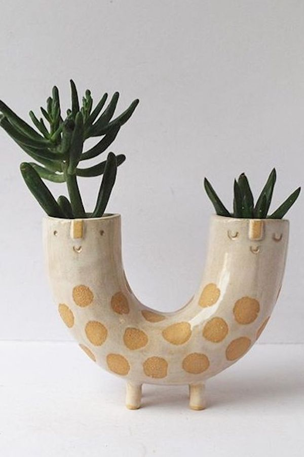 Adorable planters bring a friendly face to your inner garden - Garden Easy#adorable #bring #easy #face #friendly #garden #planters
