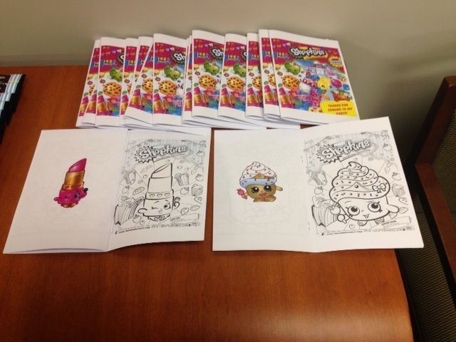 mini coloring book made from shopkins coloring pages - Mini Coloring Books