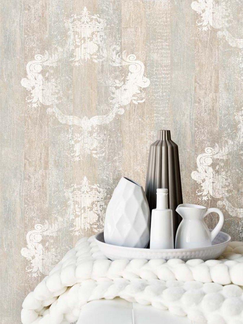 Vintage en 2019 d paredes suelos y techos papel - Papel vintage pared ...