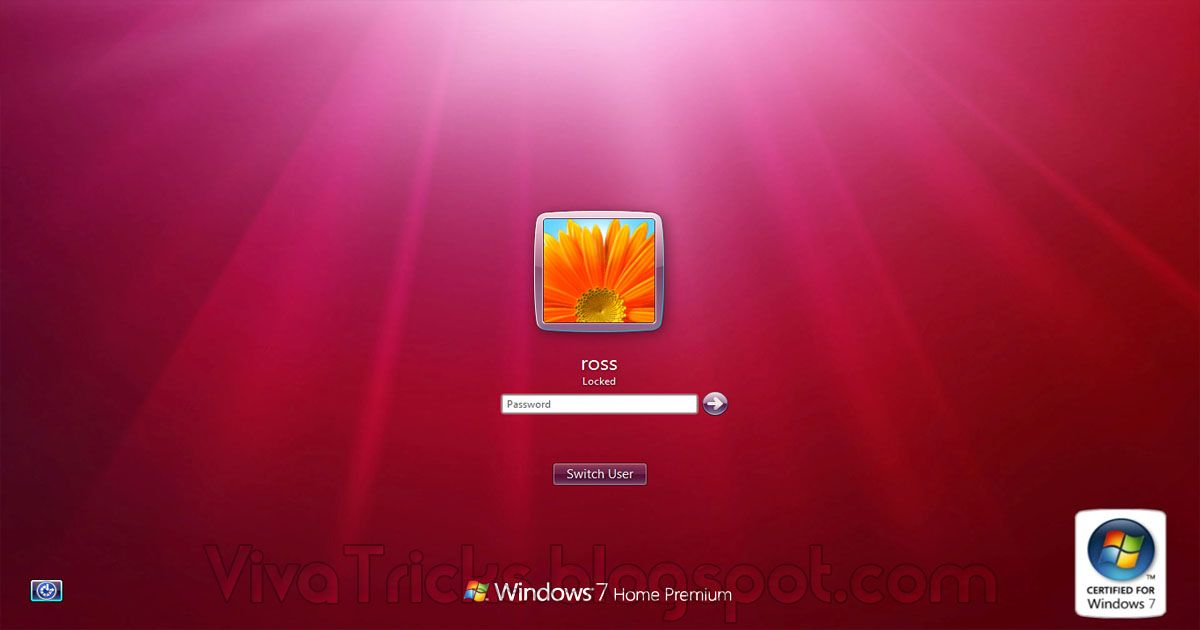 This Time We Will Show You How To Customize The Logon Screen And Windows 7 There Are Different Ways To Achie Lock Screen Wallpaper Customized Windows Windows