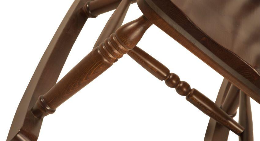Sedie A Dondolo Depoca : Sedia a dondolo rustica in legno massello di pino di svezia