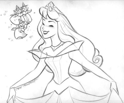 Aurora by Steve Thompson Disney Pinterest
