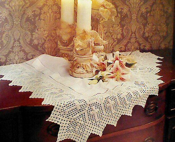 Vintage Crochet Altar Cloth Patterns | ασπρη κλωστη | Pinterest