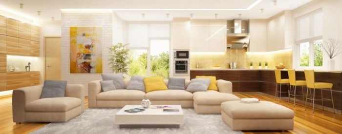 Bienes Raíces Cushions on sofa, Living room inspiration