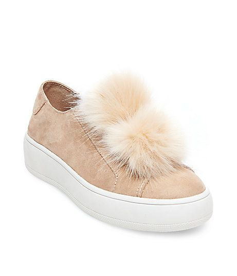 Pom Pom Sneakers. Pom Pom SneakersWomen's SneakersSneaker TrendsPlatform ShoesSteve  Madden ...