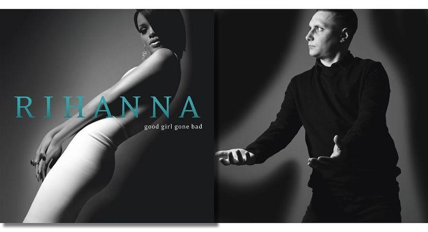 Rihanna Good Girl Gone Bad 2007 Pochette Album Album Pochette