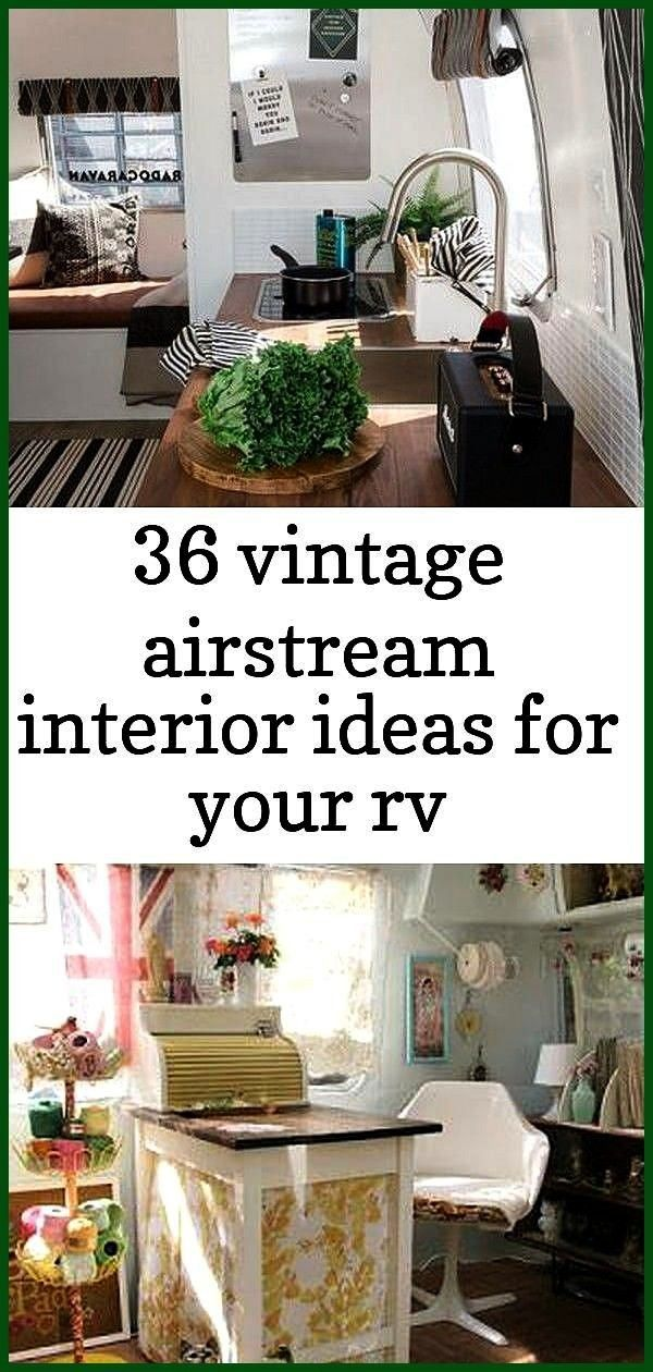 vintage airstream interior ideas for your rv decorating 24 36 Vintage Airstream Interior Ideas for