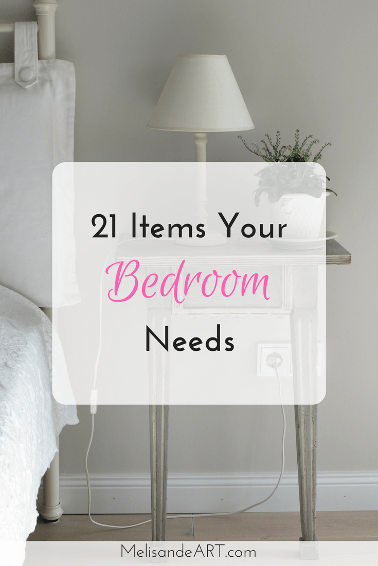 Need a checklist for decorating and furnishing your bedroom? Check