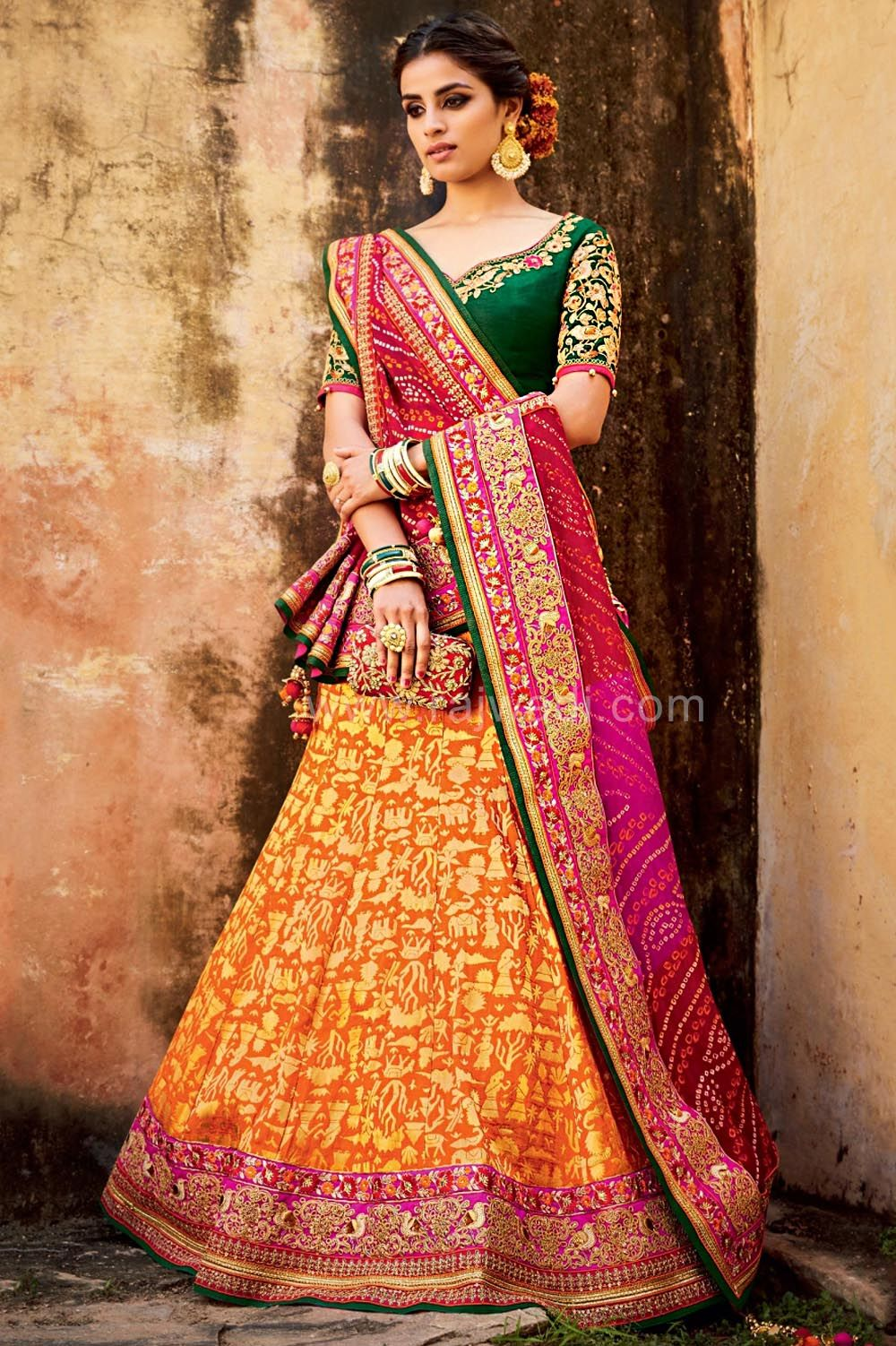 111dfda373 #rajwadi #lehengacholi #weddingseason #weddingdress #embroidery #lehenga # ethnicwear #bridalwear #designerwear #onlineshopping