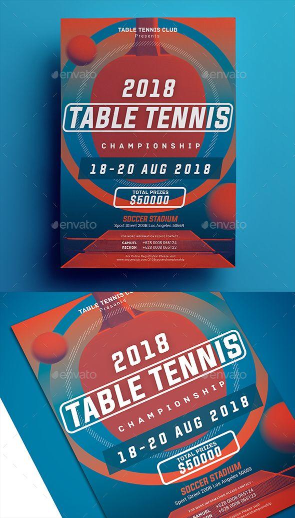 Table tennis championship flyer tennis championships flyer table tennis championship flyer fandeluxe Gallery