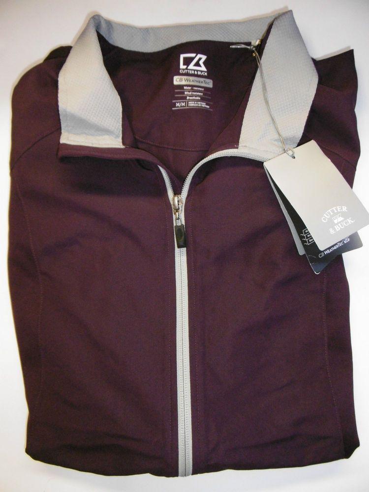 Cutter Amp Buck Cb Weathertec Golf Jacket Men S Medium Dri