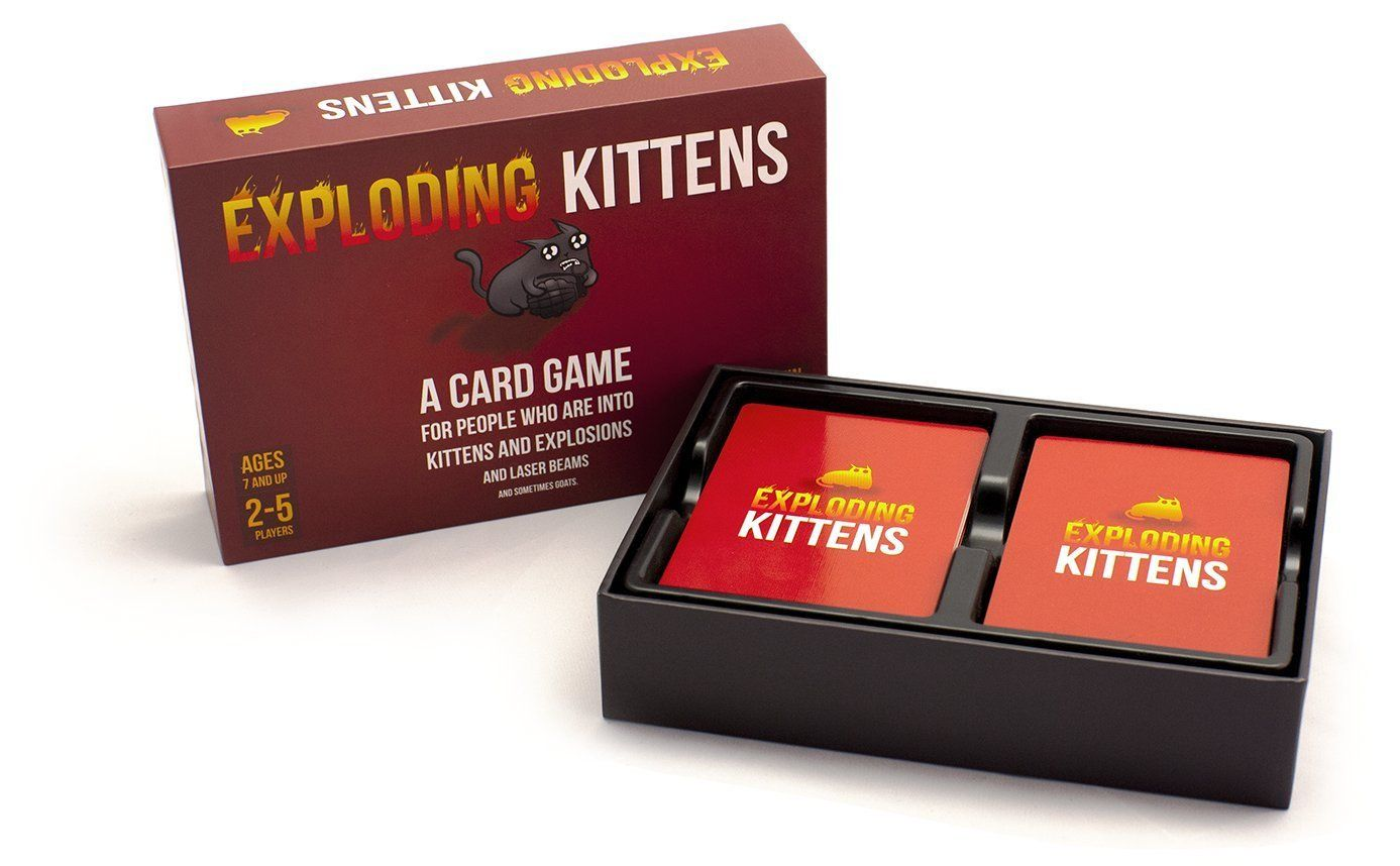 Exploding Kittens Card Game Exploding Kittens Card Game Exploding Kittens Card Games