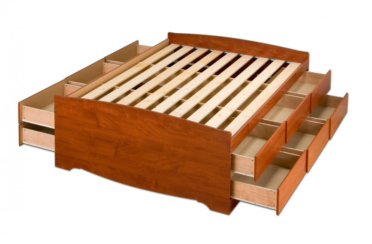 Best Easy Bed Frame Woodworking Plans For You Bed Frame With Storage Platform Bed With Storage