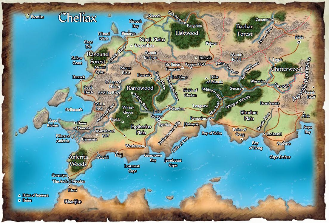 Cheliax Empire Of Devils On Golarion Pathfinder Rpg