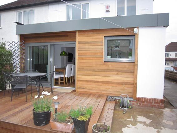 Best Extension Timber Frame Google Search House Cladding 400 x 300