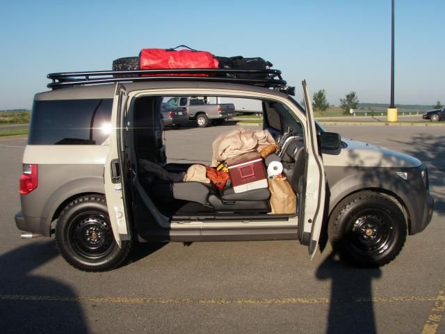 Roof Rack And Some Pictures Honda Element Owners Club Forum Honda Element Camper Honda Element Roof Rack
