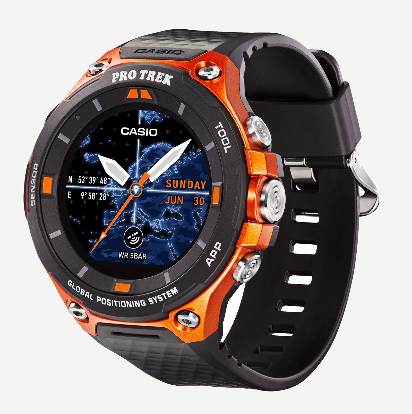 Casio Protrek Prg130y Relogio Triplo Sensor Relgios Prg 280 2 Original Wsd F20 Smart Outdoor Watch 5