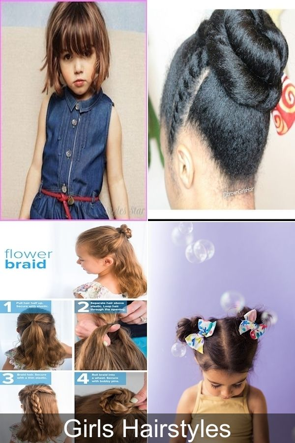Easy Toddler Hairstyles   Mid Length Haircuts   Girl Hair Cutting Image