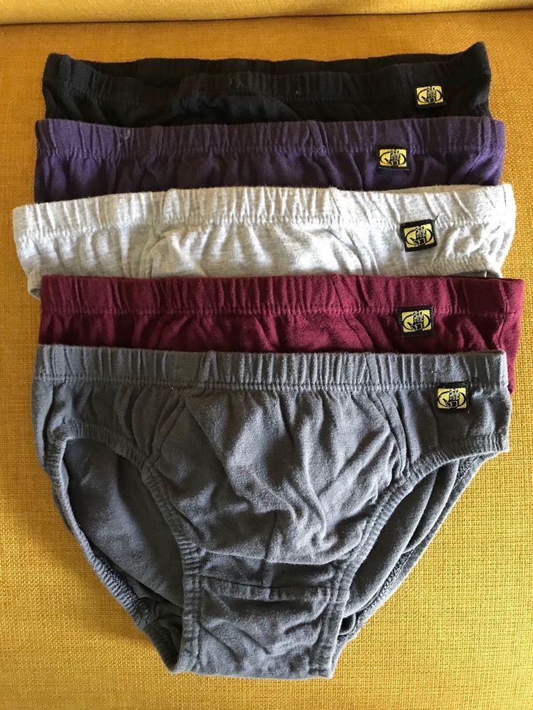 64ee7b27fd83 Vintage Body Glove 5 Pair of Bikini Brief Underwear Size Small 100% Cotton # BodyGlove #Brief