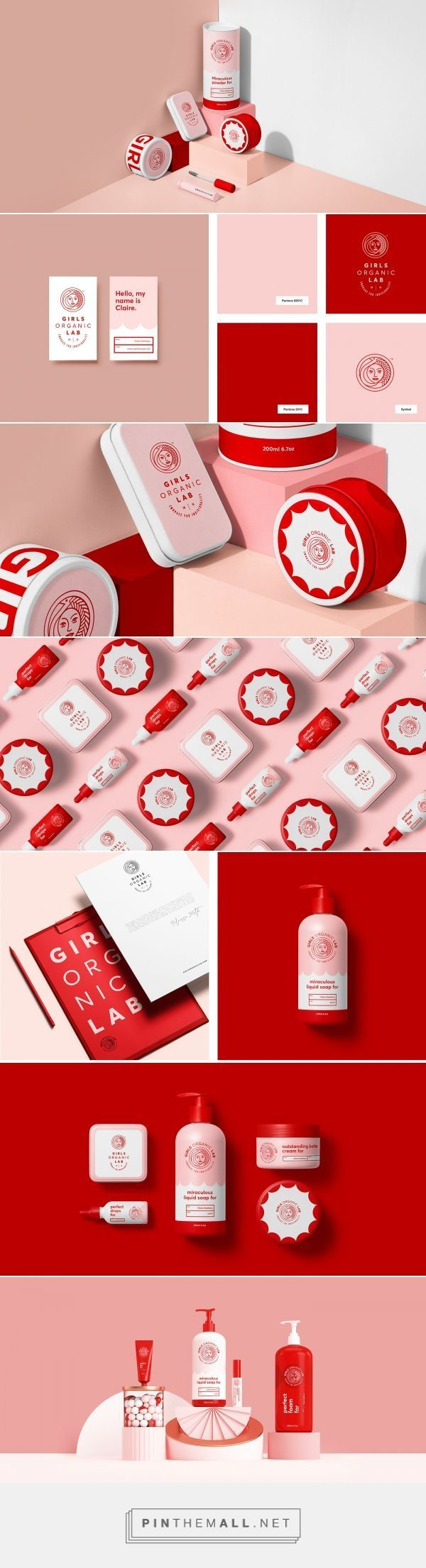 Girls Organic Lab By Sweety Co Identity Design Logo Logo Design Inspiration Graphics Graphic Design Branding
