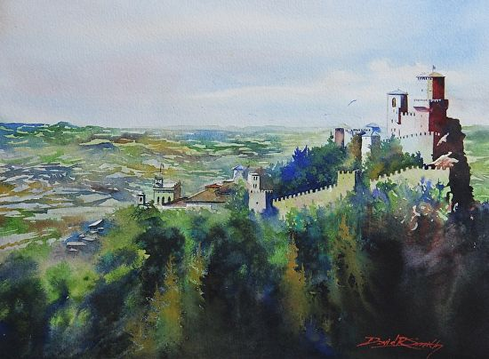 Summer Home By David Smith Watercolor 11 X 15 David Smith Painting Painting Inspiration