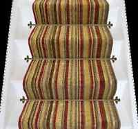 Best Axminster Carpets Striped Stair Hall Rug Runner Antique 400 x 300