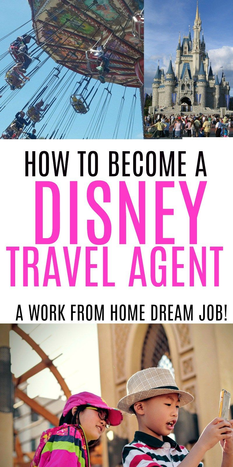 Love Disney Learn How To Become A Home Based Disney Travel Agent Find Out How One Mom Got Her Dream Job Disney Travel Agents Travel Agent Travel Agent Career