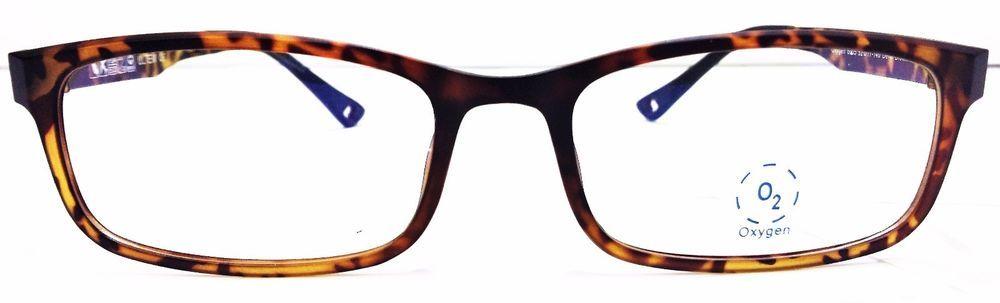 db0387cbd2 OXYGEN Eyewear 6005 DEMI BROWN Unisex Prescription Glasses frames NEW Only  1  OXYGENEYEWEAR