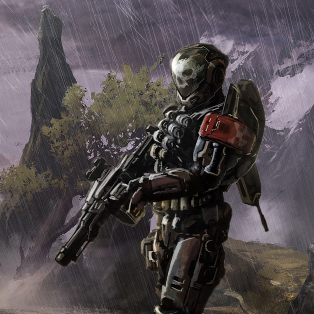 After the recovery of a Forerunner crystal on Reach the members of an organized resistance comprised of Spartans from Reach and survivors of the Battle of