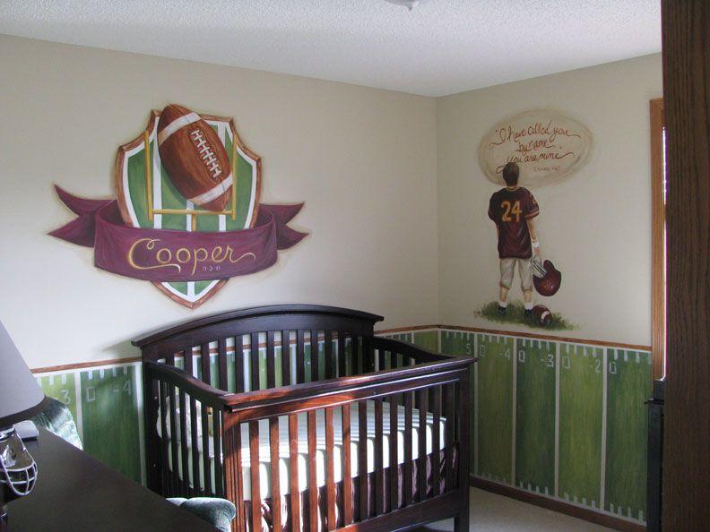 Football Theme Nursery