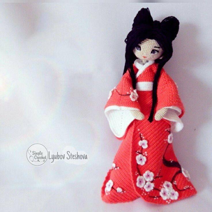 muneca oriental crochet-otakulandia.es (13) | Crochet | Pinterest ...
