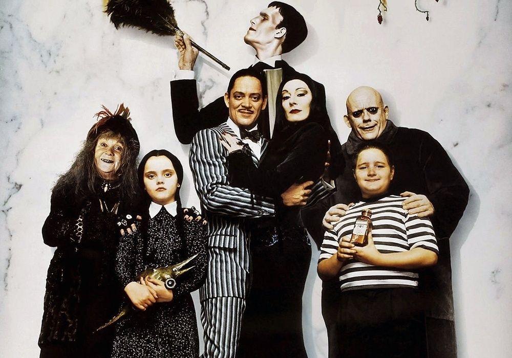 Los Locos Addams Personajes Familia Adams Filmes Do Dia Das Bruxas Familia Addams
