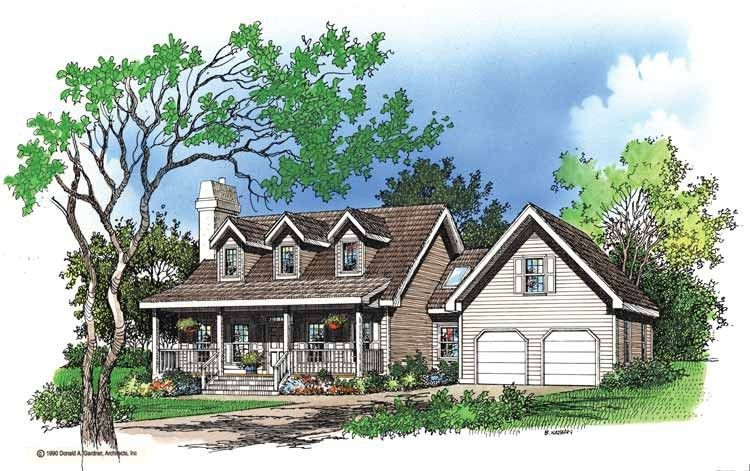 Eplans Low Country House Plan Second Honeymoon Cottage