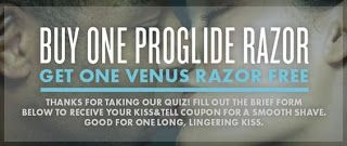 Buy Gillette ProGlide Razor Get 1 FREE Venus Razor! (Mailed Coupon) Still Available!
