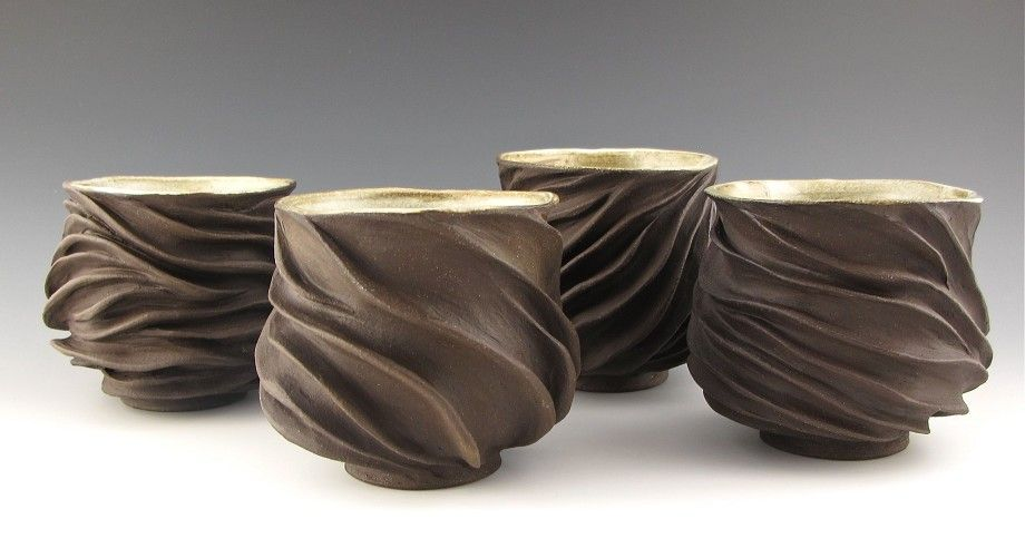 From one of my favorite potters - Judi Tavill