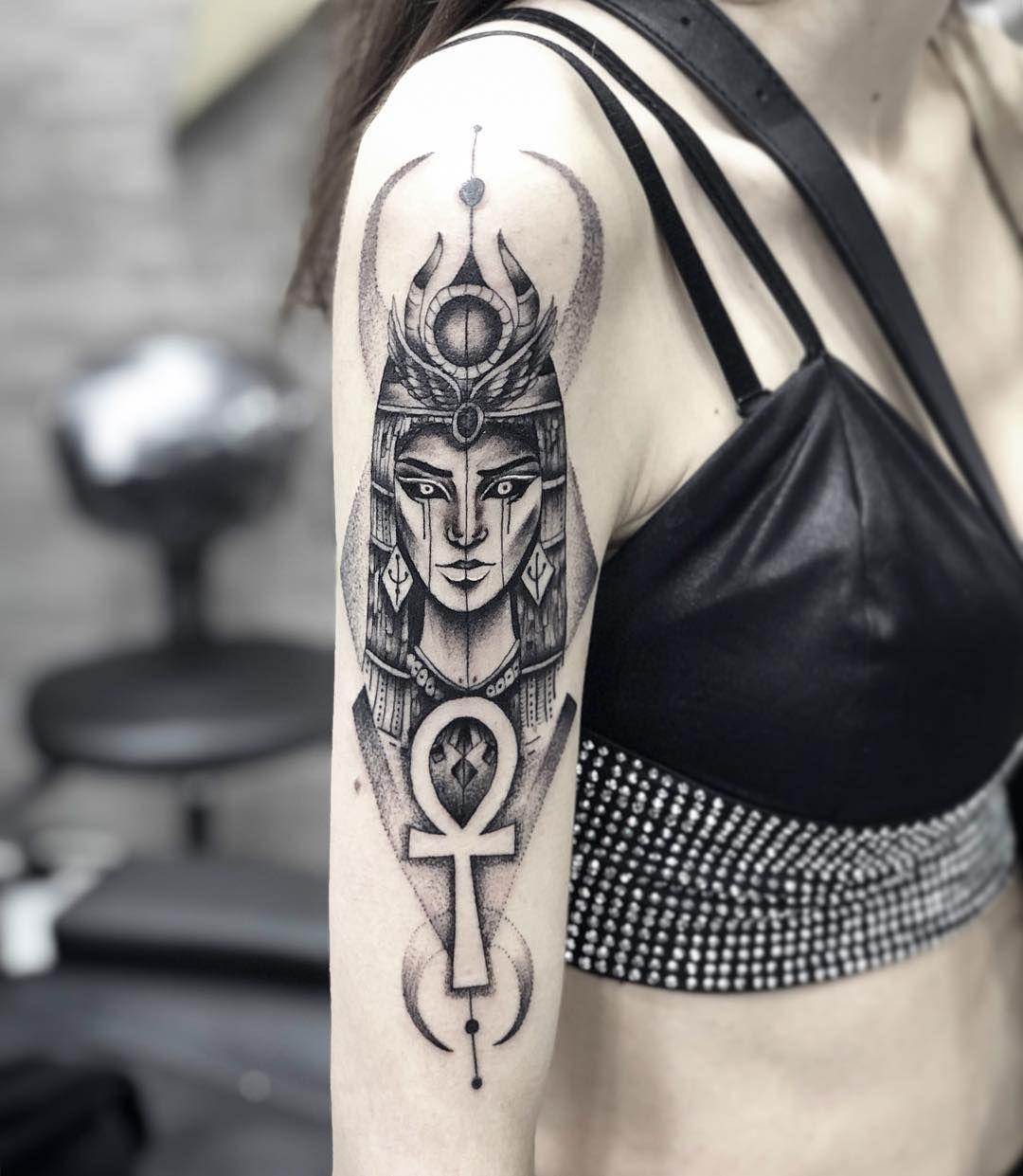 Last Tattoo 2018 Tattoo Tattoos Cleopatratattoo Ink Inked Tattooed Tattooist Coverup Sanat Beyoglu Insta Cleopatra Tattoo Tattoos Egyptian Tattoo