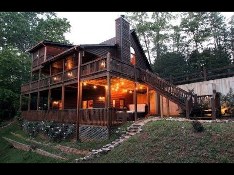 Mountain View Rental Cabin High Bear Nate Cabin Lake House Plans Cabin Rentals
