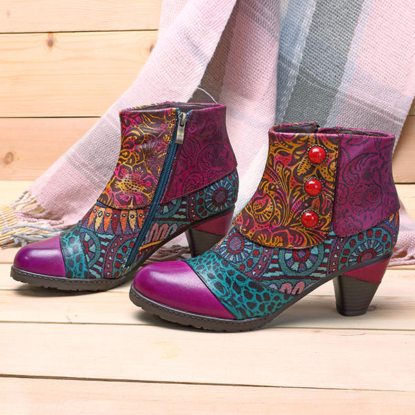 Leather Boots Pattern